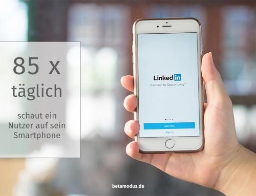 Mobile first nicht nur für Social Media