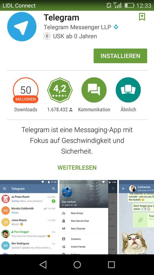 Telegram – Konkurrent auf der Überholspur?