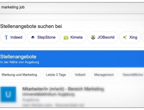 Google for Jobs verändert die Stellensuche