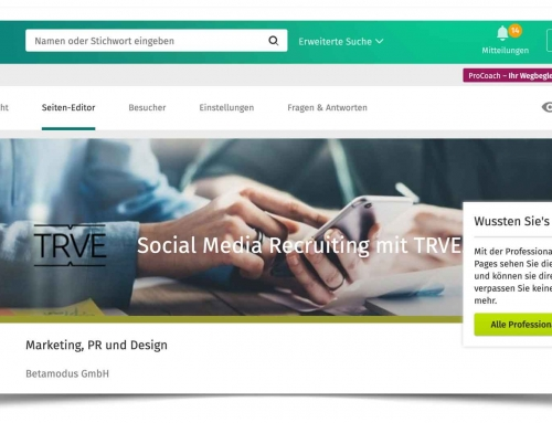 Xing stellt Business Pages ein