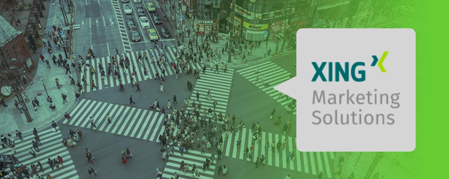 XING Werbeformate im Überblick
