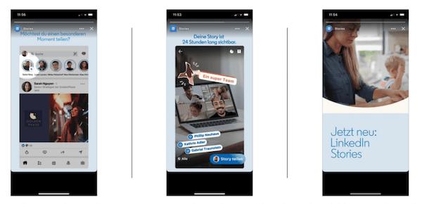 LinkedIn Stories nun in Deutschland verfügbar